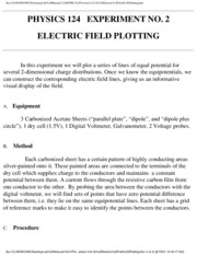 124-02 Electric Field Plotting