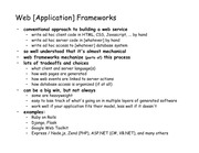 Lectures Notes-08framework