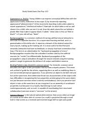 Study Guide Exam One Psyc 410.docx