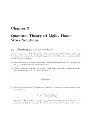 PHYS 205 Fall 2009 Chapter 3 Homework Solutions