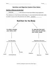 Nutrition and Digestive System Class Notes_KEY ACADEMIC.pdf