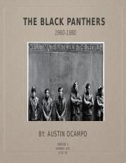 black panthers power point final draft