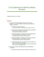 2.07 Exploring Our World in Motion Answers.docx
