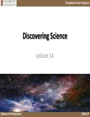 Lecture 1A - Discovering Science.pdf