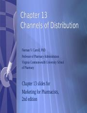 Chapter13-Channels of Distribution