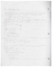 AP Calculus Chapter 6 Notes