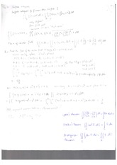 Exam Material Surface Integrals