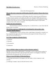 B2B Marketing Concepts Assignment-2.docx