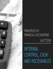 5 Internal Control, Cash and Receivables.pptx
