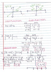 Graph Functions Notes