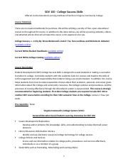 Common Syllabus for OER SDV100 for 8-Week 2014-2015
