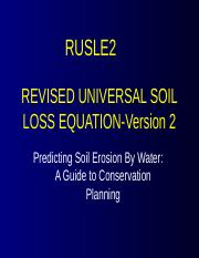 RUSLE2 slide set2.ppt