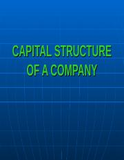 T5_CAPITAL STRUCTURE OF A COMPANY.ppt