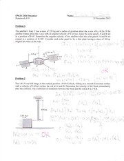 Angular Velocity and Veritcal Position Homework