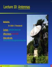 Lecture 10 - Antennas.ppt