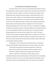 Ethical Thesis(Philosophy/ Politics)