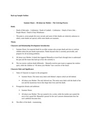 rht second paper outline