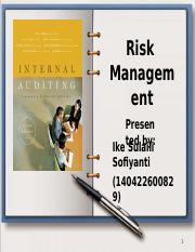 Risk Management Bu Helianti