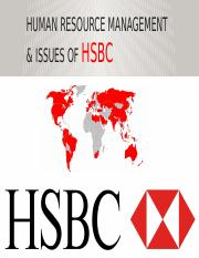 HUMAN RESOURCE ISSUES OF HSBC.pptx