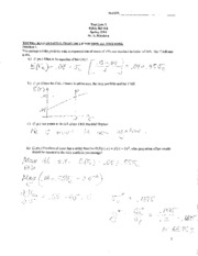 Test Quiz 2 - Solutions