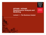 Lecture 1 HIT2405S1 [Compatibility Mode]