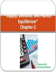 EC-2 Demand and Supply
