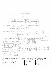 Sample Midterm Solutions