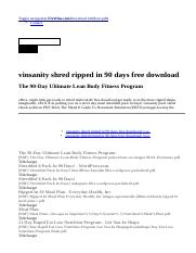 Toned In 90 Days The Exact Blueprint Pdf 5 Ripped In 90 Days The Exact