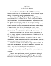 creative writing-the sniper