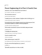 Power Engineering A2 of Part A Fourth Class.docx