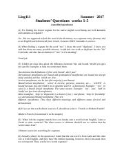 Ling111 Students Questions Weeks 1-5 or 6 Fall 2017.doc