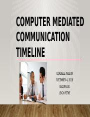 Computer Mediated Communication_WK1