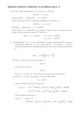 Solutions for Tutorial Problem Set 3