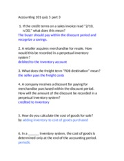 accounting 101 final study guide Introduction to accounting accounting is the language of business if you understand basic accounting principles, then you'll have a much more solid understanding of business in general.