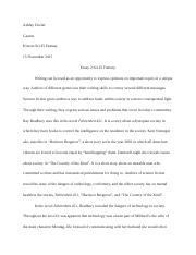 harrison bergeron documents course hero essay 2 honors sci fi fantasy 11