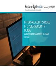 Internal Audit's Role In Cybersecurity Guide.pptx