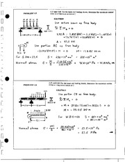 509_Mechanics Homework Mechanics of Materials Solution