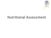 N 326 Nutritional Assessment