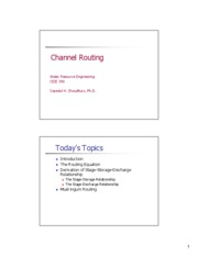 CEIE 340 Lecture 11 Channel Routing