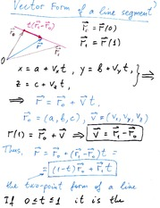Lecture Notes on Vector Valued Functions
