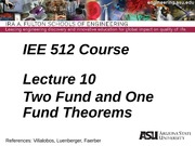 Lecture 10dm Two Fund Theorem