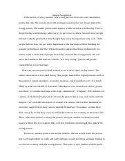 Yunzhu Pan14226998-article assignment.docx