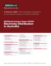 F7 - IBIS World, IBIS World Industry report D2630, Electricity Distribution in Australia (1).pdf
