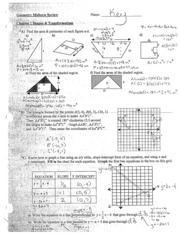 Geometry Midterm Review