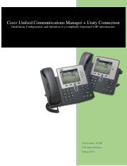 216478051-CIS-Senior-Project-Cisco-VoIP pdf - Cisco Unified