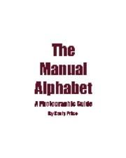 Student Project: Manual Alphabet Chart PDF