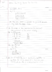 Math 106 Final Exam Study Guide Part 1 Solutions