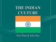 THE INDIAN CULTURE (2)