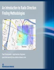 Denisowski - An Introduction to Radio Direction Finding Methodologies.pdf