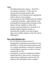 MIT 1700G Class Notes National Security Agency